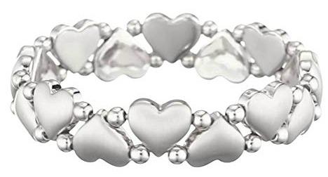 Bijou bracelet coeur Pilgrim